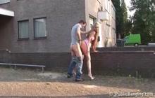 Public street sex