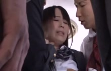 Fucking On A Bus With Schoolgirl Mana Katase
