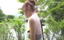 japan sex outdoor