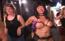 Topless sluts on the road